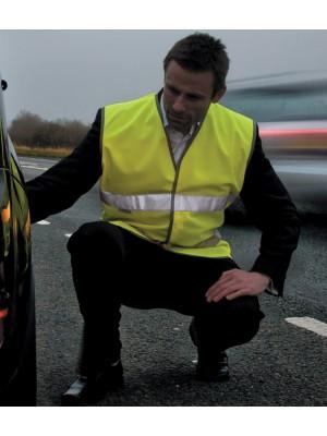 Plain Motorist Safety Vest Result