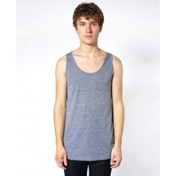 Plain Tri-blend tank American Apparel 125 GSM