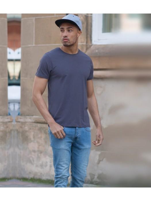 Plain T-Shirt Slim Fit Skinnifit 140 gsm GSM