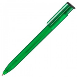 Plastic Printed logo Pen Absolute Frost Retractable Pens with ink colour black