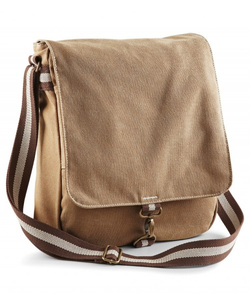 Messenger Canvas Vintage  Quadra