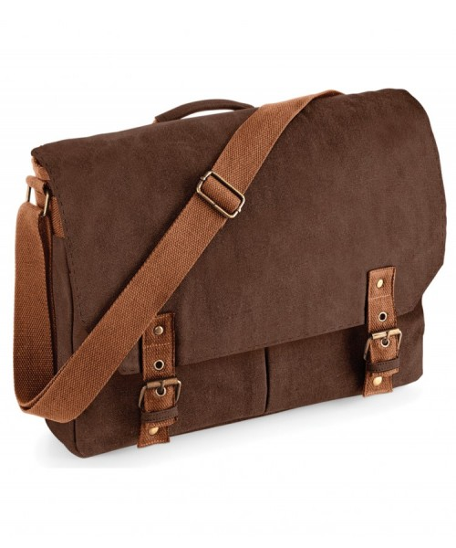 Messenger Canvas Satchel Quadra