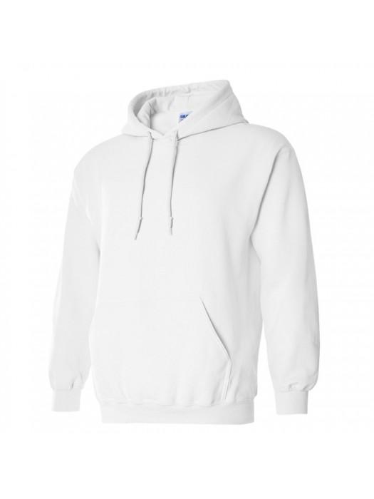 Plain Arctic White Hoodie