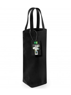 Bottle Bag Fairtrade Cotton Westford Mill