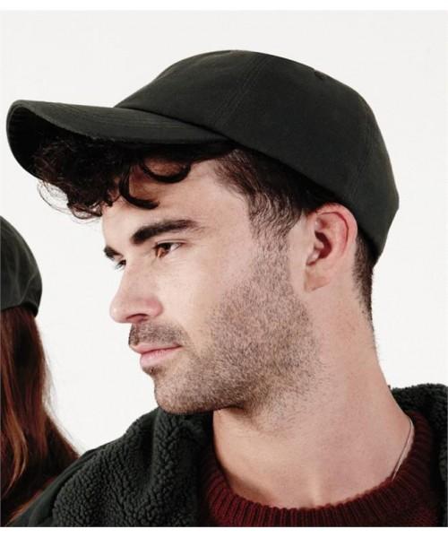 Plain WAXED LOW PROFILE CAP BEECHFIELD