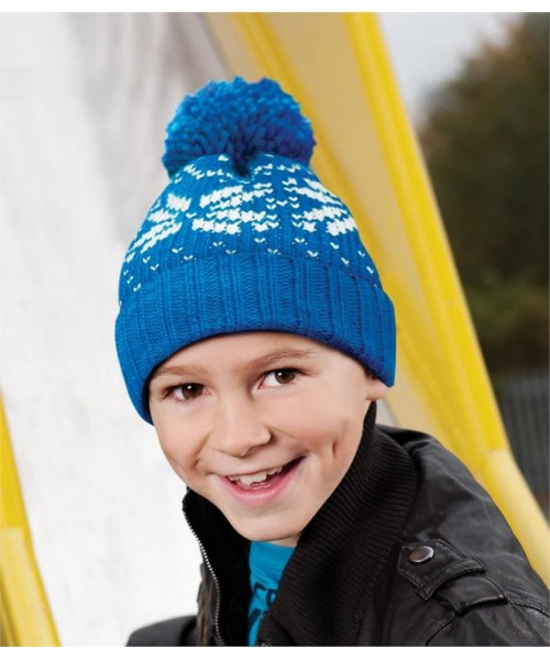 Plain KIDS FAIR ISLE BEANIE BEECHFIELD
