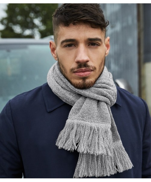 Plain CLASSIC KNITTED SCARF BEECHFIELD