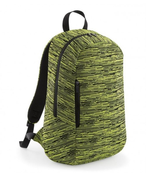 Plain DUO KNIT BACKPACK BAG BAGBASE 300 GSM