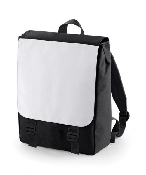 Plain SUBLIMATION BACKPACK BAG BAGBASE 523 GSM