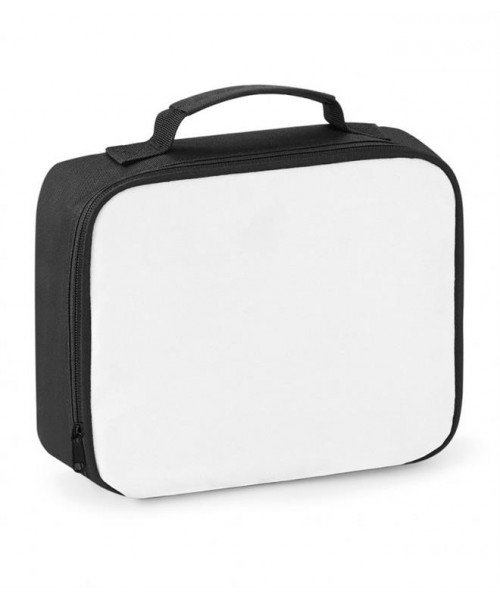 Plain SUBLIMATION LUNCH COOLER BAG BAGBASE 390 GSM