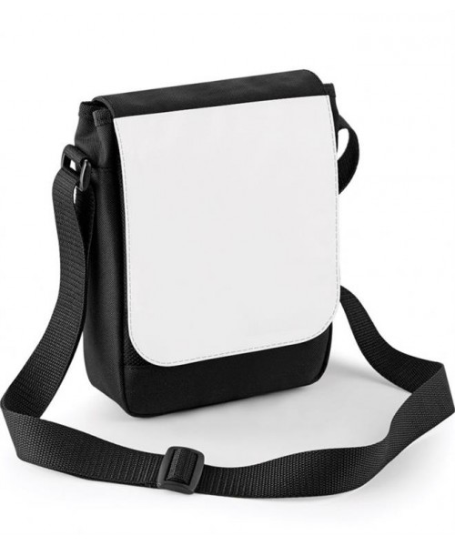 Plain SUBLIMATION DIGITAL MINI REPORTER BAG BAGBASE 192 GSM