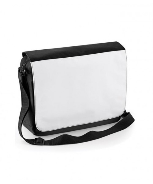 Plain SUBLIMATION MESSENGER BAG BAGBASE 440 GSM