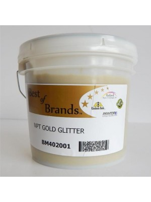 Metallic effect RUTLAND NPT GOLD GLITTER ink