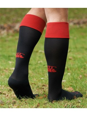 Plain PLAYING CAP SOCKS CANTERBURY