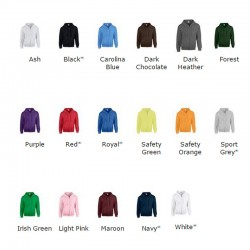 Plain Ash Zip up Gildan Hoody