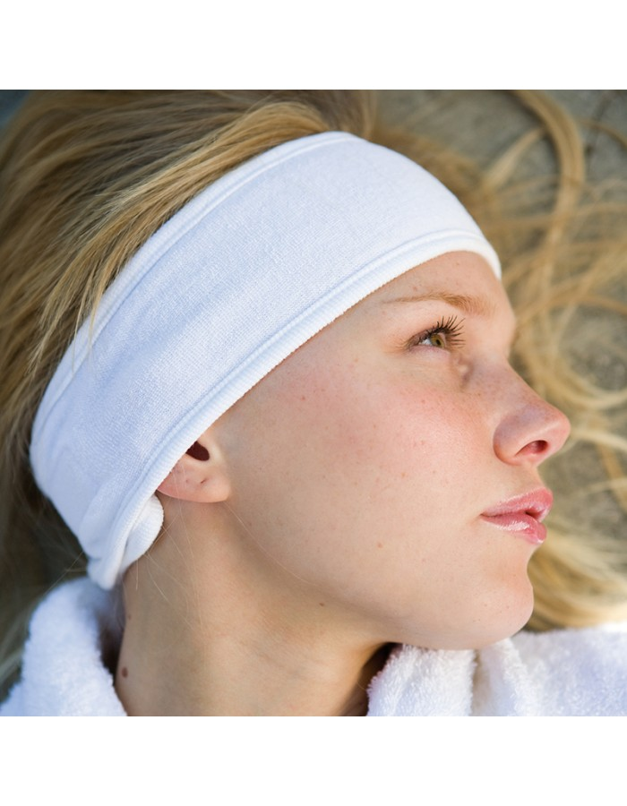 Robes and Slippers Beauty Hairband Towel City 240 GSM