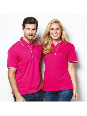 LADIES ESSENTIAL PIQUE POLO SHIRT Kustom Kit 185 GSM