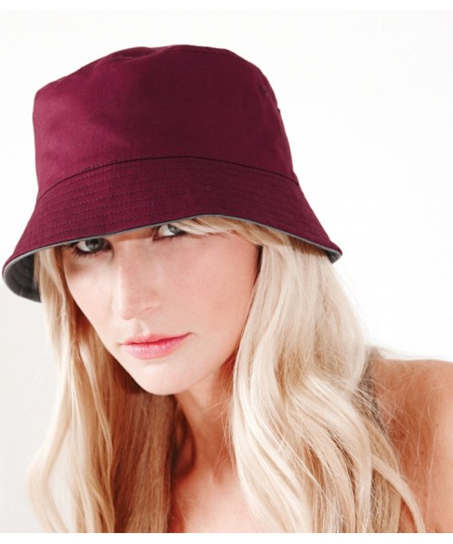 Hat Reversible Bucket Beechfield Headwear
