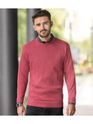 Plain COTTON ACRYLIC CREW NECK SWEATER RUSSELL 275 GSM