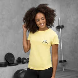 Gym Wear T Shirts Girlie cool T Gym Kitty Fitness Training, Yoga