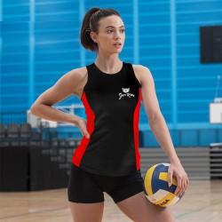 Gym Wear Vest Girlie cool contrast vest Gym Kitty Fitness Training, Yoga