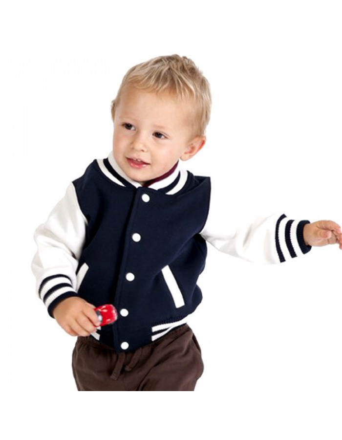 SnS Kids Varsity Jackets in 6 colours Children lettermans