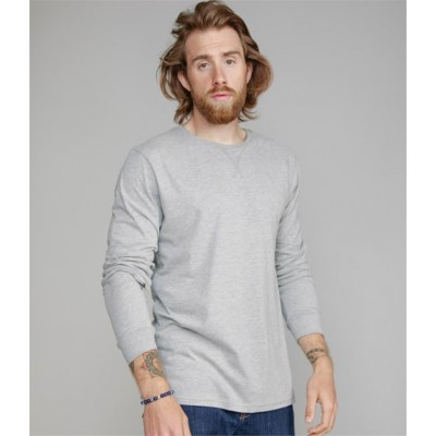 Plain BY MANTIS LONG SLEEVE T-SHIRT SUPERSTAR 150 GSM