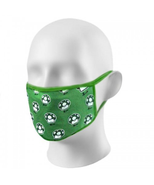 Gamer Printed Retro Face Masks Protection Against Droplets & Dust