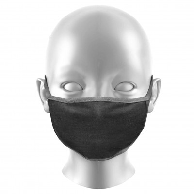KIDS Charcoal Grey Face Masks Protection Against Droplets & Dust