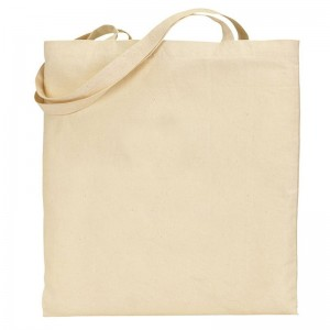 Natural canvas cotton SnS brand exhibitionTote Bag
