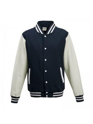 Navy/White Varsity Jackets