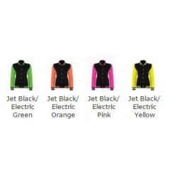 Neon Electric Yellow AWD Varsity Jackets