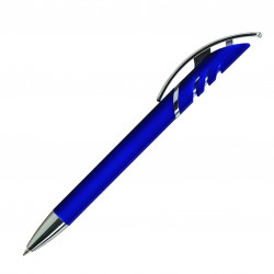 Plastic Printed logo Pen A-Starco LUX Retractable Pens with ink colour Blue/Black Refill