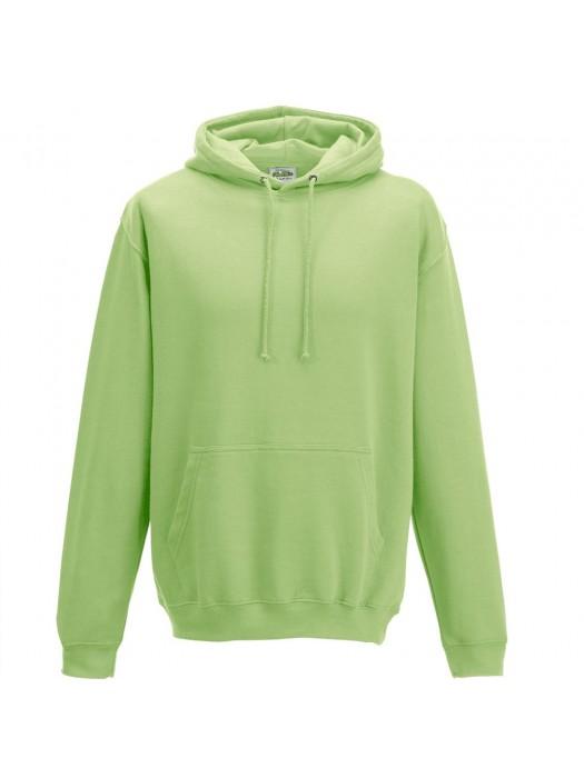 Plain Apple Green Hoodie
