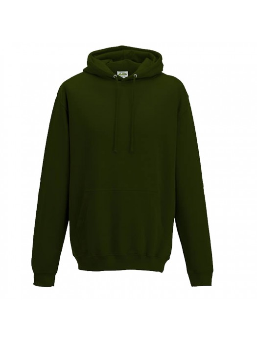 Plain Forest Green Hoodie