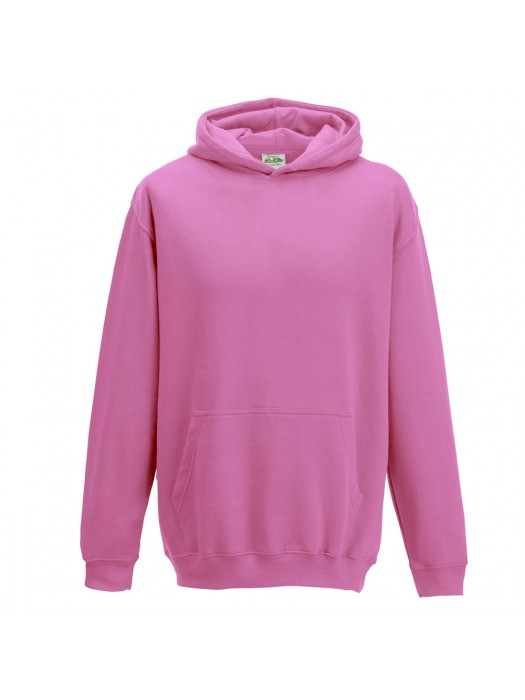 Plain Candyfloss Pink Hoodie