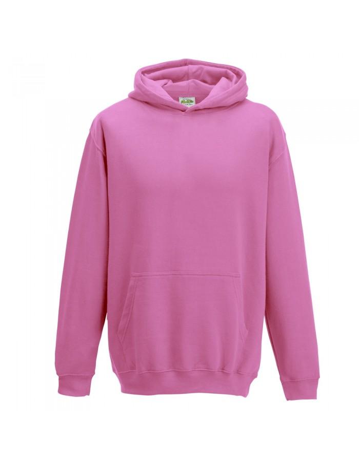 Plain Candyfloss Pink Hoodie