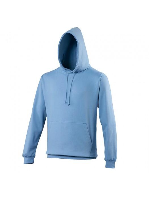 Plain Cornflower Blue Hoodie
