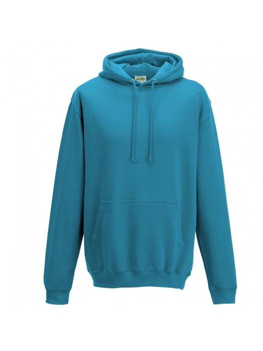 Plain Deep Sea Blue Hoodie