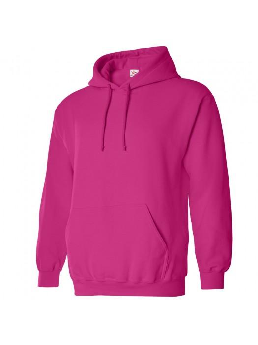 Plain Hot Pink  Hoodie