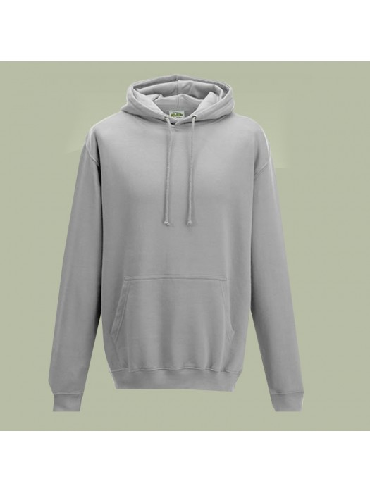 Plain Moondust Grey Hoodie