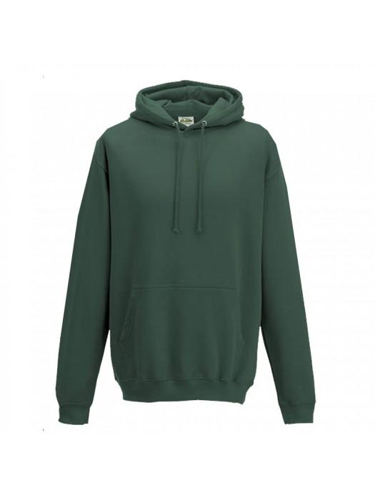 Plain Moss Green Hoodie