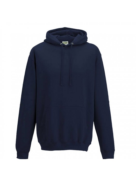 Plain New French Navy Hoodie