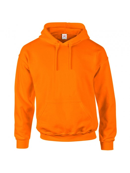 Plain Orange Hoodie