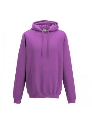 Plain purple hoodie