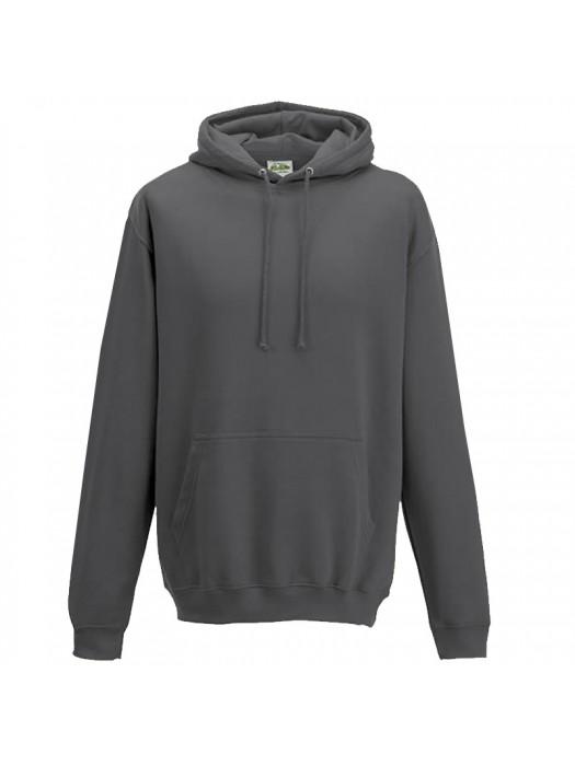Plain Storm Grey Hoodie