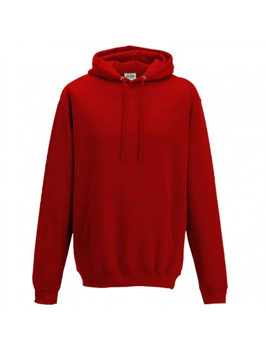 Plain Sunset Red Hoodie