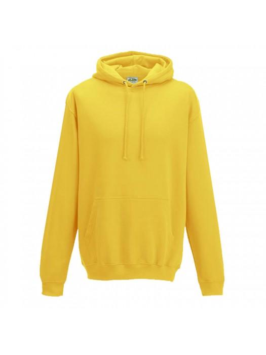 Plain Sun Yellow Hoodie