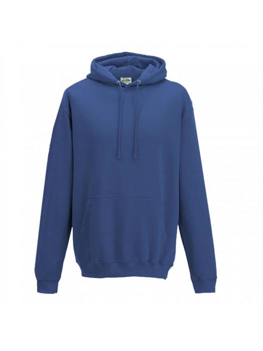 Plain Tropical Blue Hoodie