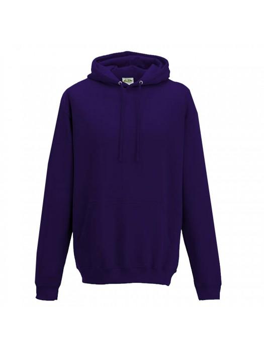 Plain Ultra Violet Hoodie